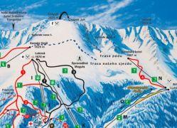 vyznaceni trasy laviny