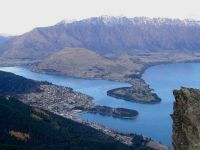 pohled na Queenstown