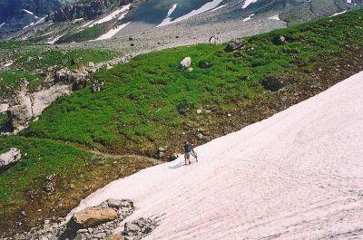 Klariden hochalpenweg - cca 2100 m.n.m